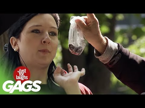 Poop in the Face Prank - Just For Laughs Gags