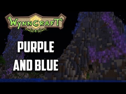 Wynncraft Quests   Gavel   Purple and blue