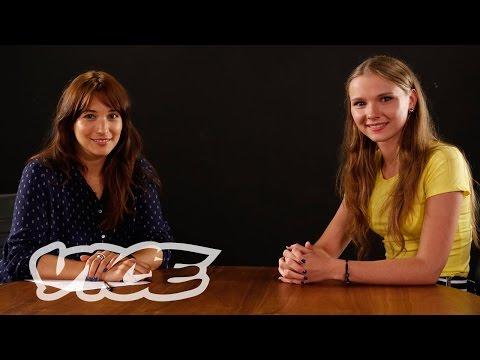 VICE Talks Film with 'The Tribe' actress Yana Novikova