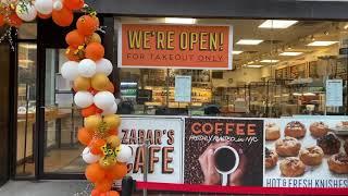 Zabar's cafe re-opens