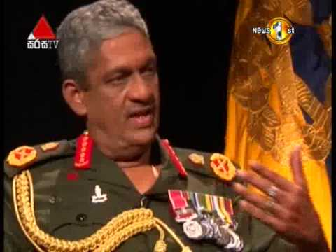 Face to Face (Muhunata Muhuna) With Field Marshal Sarath Fonseka