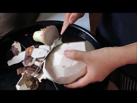 how to boiled taro