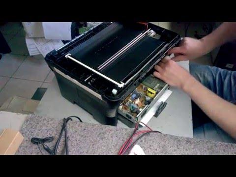 Samsung scx 4300 замена шлейфа сканера