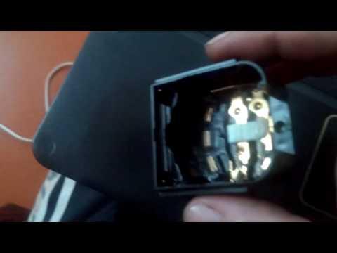 Ремонт подрулевого переключателя света фар Деу Нексиа часть 1