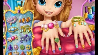 Sofia the First ❤ Sofia The First Nail Spa - Disney Cartoon Game for Kids & Children