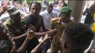 NAIRA MARLEY ARRANGED IN COURT AFTER 02 ARENA PERFORMANCE IN LONDON