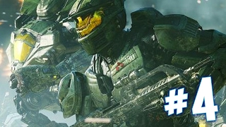 HALO WARS 2 Campaign Walkthrough : Ep4 Banished Assault!