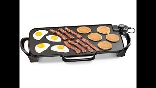 Review: Presto 07061 22-inch Electric Griddle With Removable Handles
