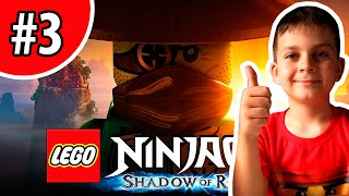 ЛЕГО НИНДЗЯГО Тень Ронина #3 Погоня в Спиндзяго Игра Лего Ниндзяго Lego Ninjago Shadow of Ronin