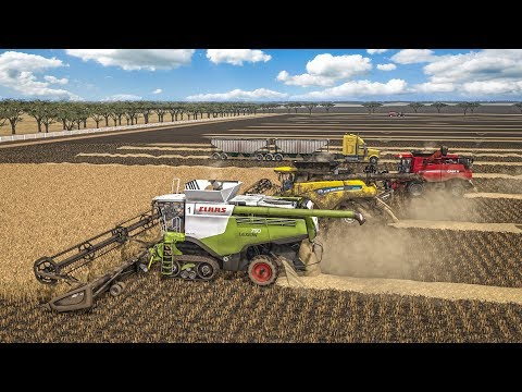 Farming Simulator 17  - Grande Moisson Australienne / Biggest harvest in Australia