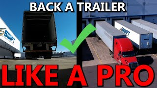 Back a Trailer Lİke A Pro | Tips to backing a semi trailer - Big Rig Pro