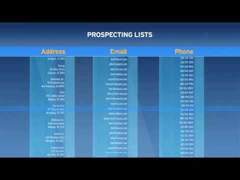 Prospecting Made Easier