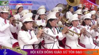 Hòa Tấu : Chứng Nhân Tình Yêu - L.m Nguyễn Duy | Hội kèn Giáo Xứ Tôn Đạo,Giáo Phận Phát Diệm
