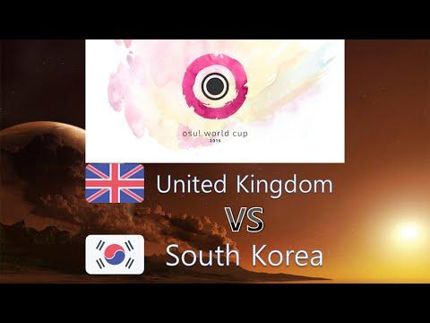 osu! World Cup 2015 Round of 16 - Match C - United Kingdom vs South Korea