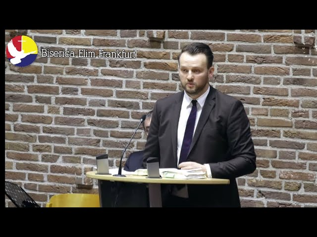 Programul Bisericii Elim Frankfurt 21.02.2021