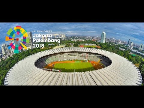 "ASIAN GAMES 2018 : XVIII :JAKARTA INDONESIA :""ENERGY OF ASIA"""