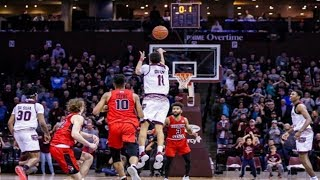 College Basketball (2019-20) Game Winners and Buzzer Beaters