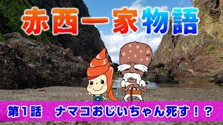 七尾特産品の赤西貝ちゃんを中心に赤西一家物語が今始まる!