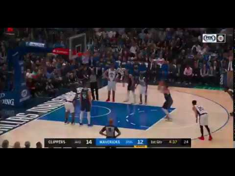 Luka Doncic Airballs Free Throw Clippers Vs Mavericks Nba 1 21 20