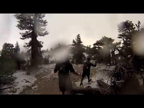 Caught in a lightning storm atop San Gorgonio summit