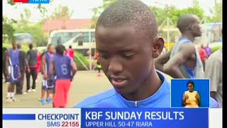 Upper Hill high school hands Riara first loss in five games in KBF league
