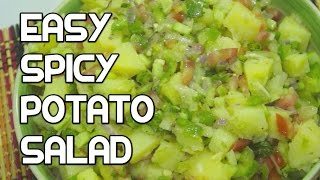 Spicy Potato Salad Recipe - Vegan