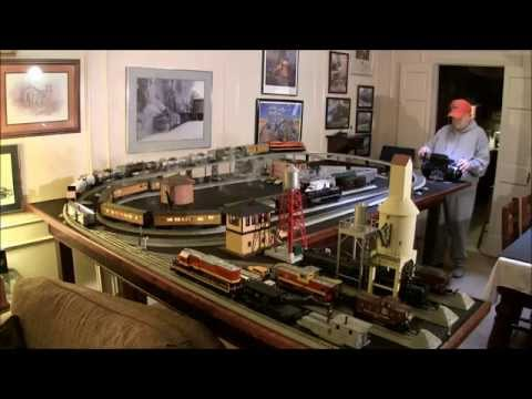 PawPaw's O Gauge Toy Train Layout   Update #1   February 24, 2015