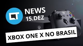 Xbox One X por R$ 3.999; Propagandas em vídeos do Facebook + [CT News]