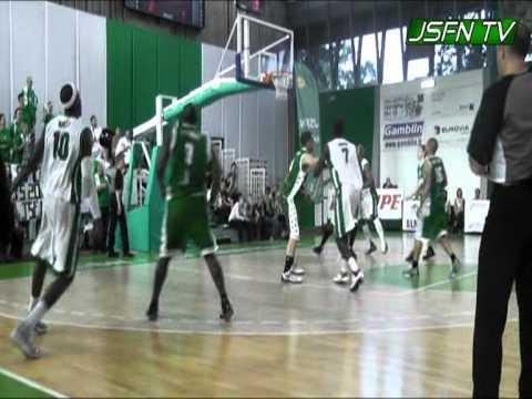 1/4 Finale Aller: Highlights JSF Nanterre vs Le Portel (17-05-2011)