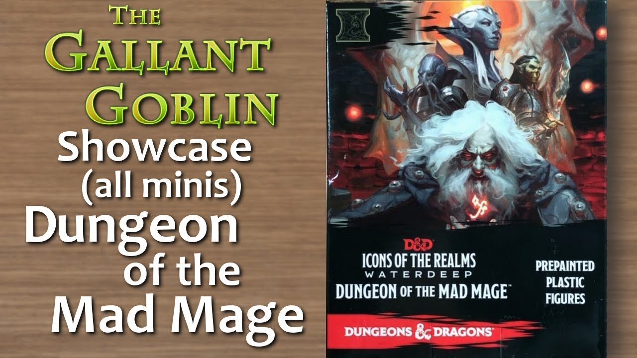 Dungeon of the Mad Mage - D&D Miniatures Icons of the Realms