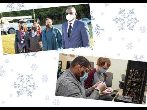 Nash Community College: Holiday E Card