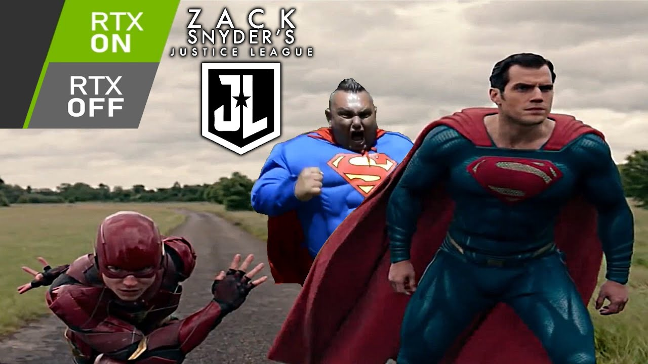 Download The Flash vs Superman: RTX ON vs RTX OFF (Justice League Meme)