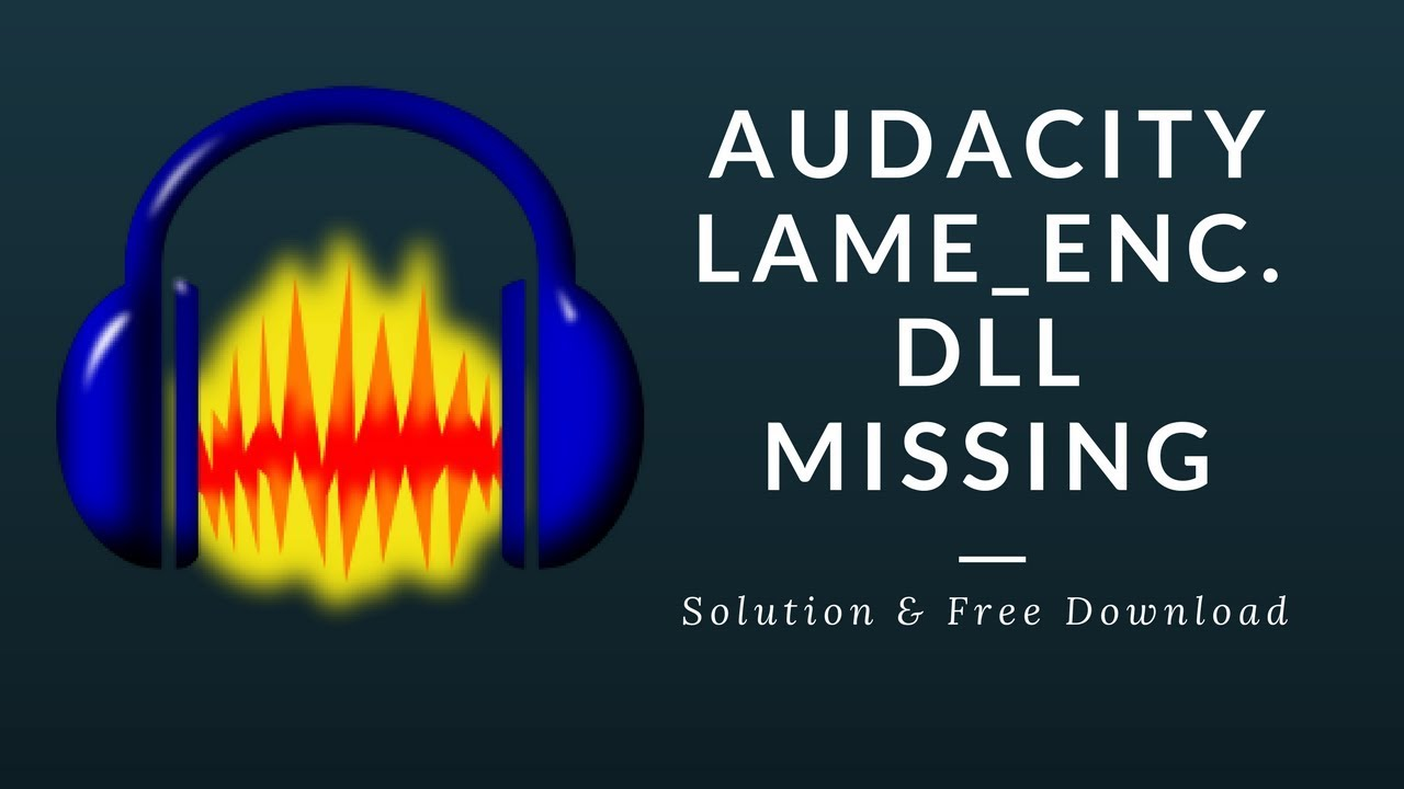 lame_enc dll audacity download