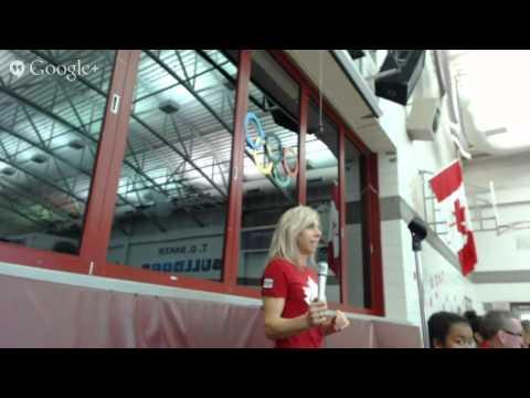 Canadian Olympians visit Edmonton Public Schools