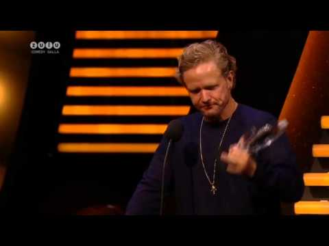"""Anders """"Anden"""" Matthesen's sjove takketale til Zulu Comedy Galla 2013"""