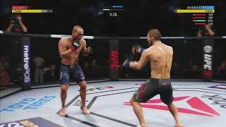 EA UFC 3 BETA - COMEBACK TKO VICTORY!!!!!