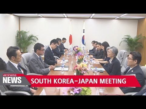 Foreign ministers of South Korea, Japan to discuss North Korean nuclear issue