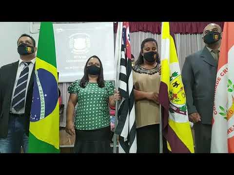 Entrada das Bandeiras | Festividade 29 Anos do Ministério C.C.I.D - 21/08/2021
