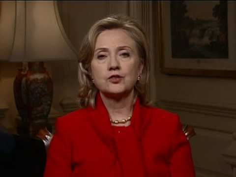 """Secretary Clinton: """"Tomorrow Will Be Better"""" - YouTube"""