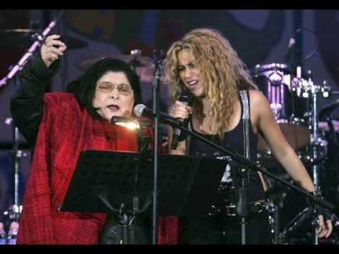 Shakira y Mercedes Sosa - La Maza (HQ Studio Version) ***NEW SONG***