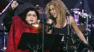 Shakira y Mercedes Sosa - La Maza (HQ Studio Version) ***NEW SONG***