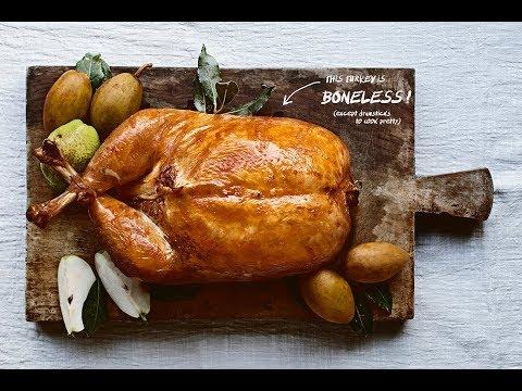 How to turn turkey into a boneless purse