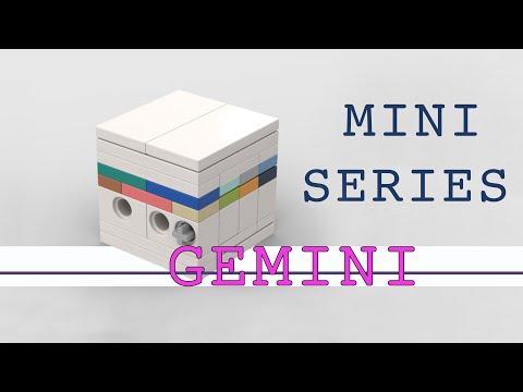 Design Series Minis: GEMINI Lego Puzzle Box (beginner)