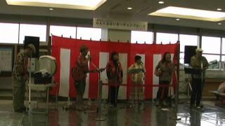 たんちょう釧路空港開港50周年記念イベントに出演しました。 出発ロビー...