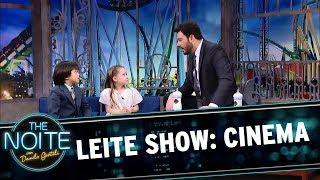 Leite Show: Crianças falam sobre cinema | The Noite (09/10/17)