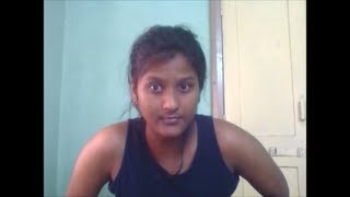 Indian girl singing - Dirty Mind rap part