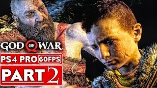 GOD OF WAR 4 Gameplay Walkthrough Part 2 [1080p HD 60FPS PS4 PRO] - No Commentary