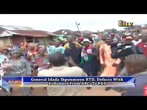 General Ikponmwen defects with followers from APC to PDP