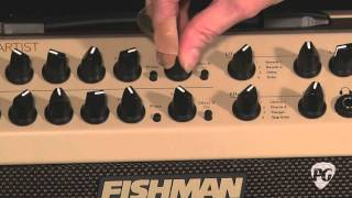 Video Review - Fishman Loudbox Artist Acoustic Amp