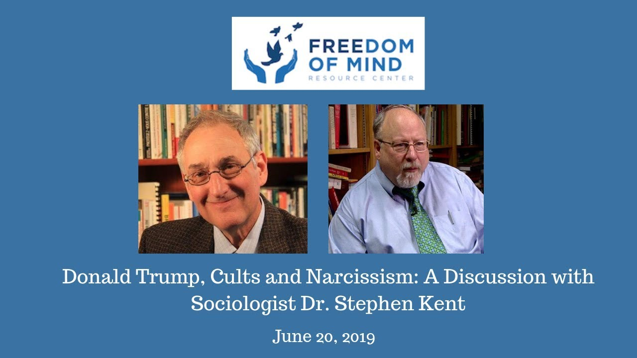 Donald Trump, Cults and Narcissism: A Discussion with Sociologist Dr